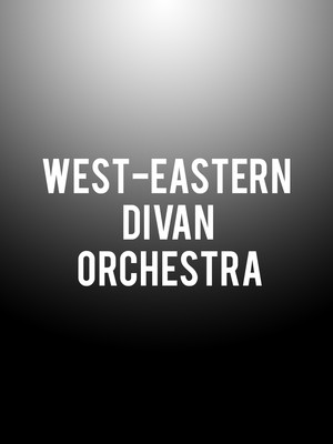 West-Eastern Divan Orchestra at Judy & Arthur Zankel Hall