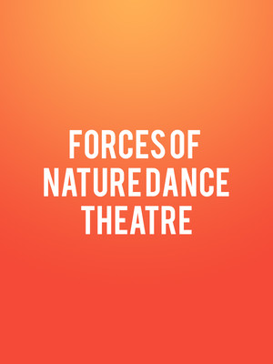 Forces of Nature Dance Theatre, Victoria Theater, New York