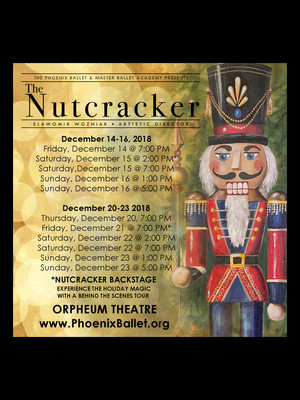 Phoenix Ballet - The Nutcracker Poster