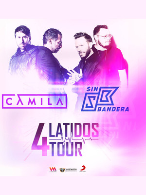 Camila and Sin Bandera, Greensboro Coliseum Special Events Center, Greensboro