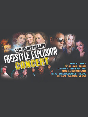 Freestyle Explosion at Honda Center Anaheim