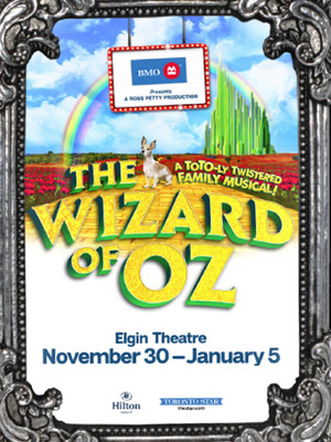The Wizard of Oz at Elgin Theatre