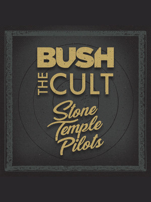 The Cult, Bush and Stone Temple Pilots Poster