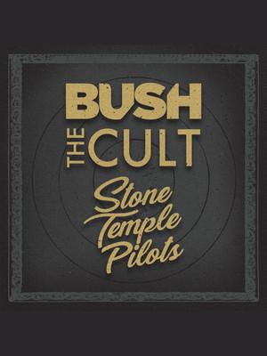 The Cult Bush and Stone Temple Pilots, San Manuel Amphitheater, San Bernardino