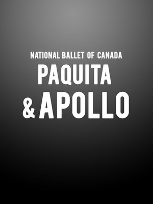 National Ballet of Canada - Paquita and Apollo at Four Seasons Centre