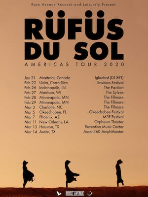 Rufus Du Sol, WaMu Theater, Seattle