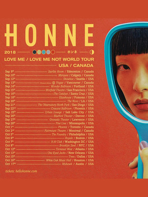 Honne at The Warfield