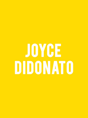 Joyce Didonato at Benaroya Hall