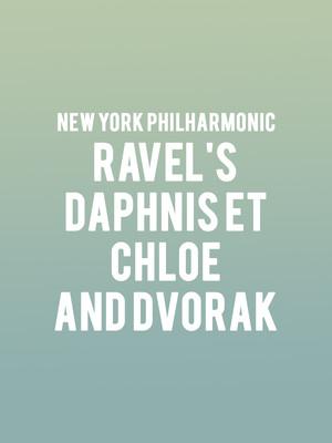 Ravel's Daphnis et Chloe and Dvorak Poster