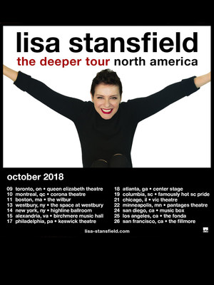 Lisa Stansfield Poster