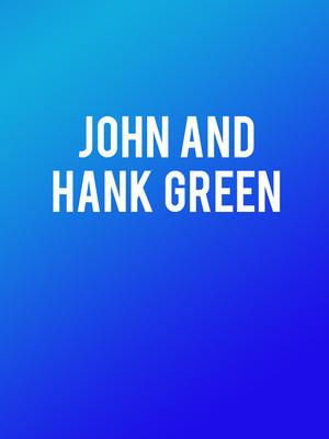 John and Hank Green Poster