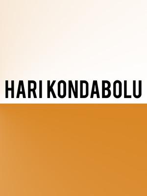 Hari Kondabolu Poster