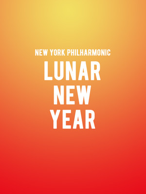 New York Philharmonic - Lunar New Year Poster