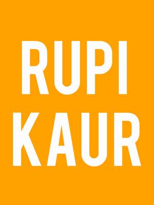 Rupi Kaur at Tabernacle