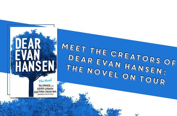 Dear Evan Hansen Book Tour, Montgomery Auditorium At Free Library of Philadelphia, Philadelphia