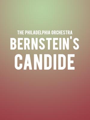 The Philadelphia Orchestra - Bernstein's Candide Poster