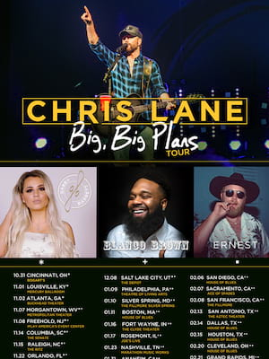 Chris Lane Poster