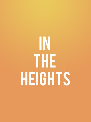 In the Heights at Marx Theatre