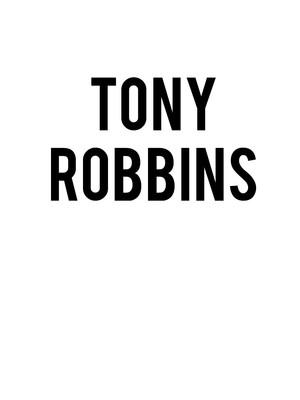 Tony Robbins Poster