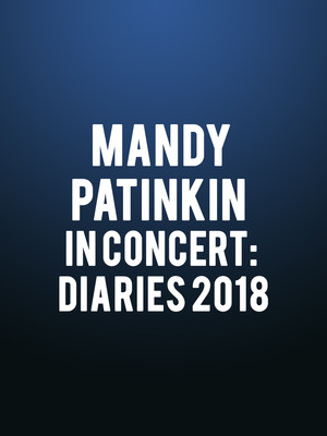 Mandy Patinkin in Concert: Diaries 2018 Poster