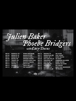 Julien Baker and Phoebe Bridgers, Brooklyn Steel, Brooklyn