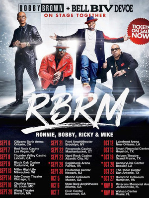 RBRM: Ronnie, Bobby, Ricky and Mike at Greensboro Coliseum