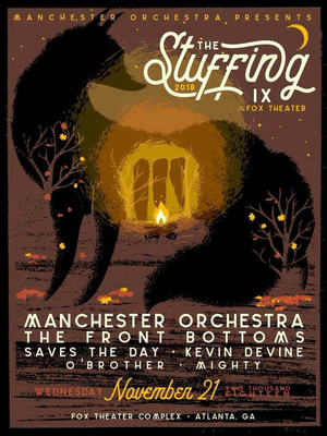 The Stuffing 2018 - Manchester Orchestra, The Front Bottoms, Saves the Day Poster