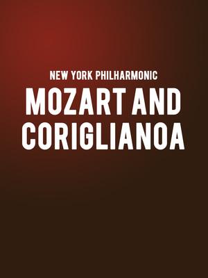 New York Philharmonic - Mozart and Corigliano Poster