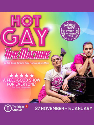 Hot Gay Time Machine Poster