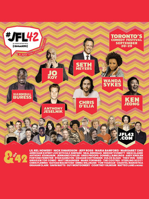 JFL42 Festival - Neal Brennan Poster