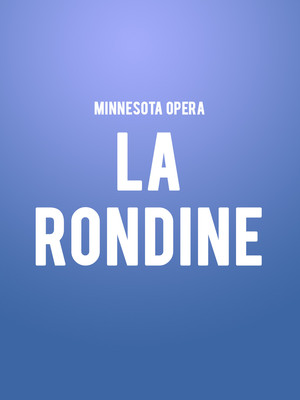 Minnesota Opera - La Rondine at Ordway Music Theatre