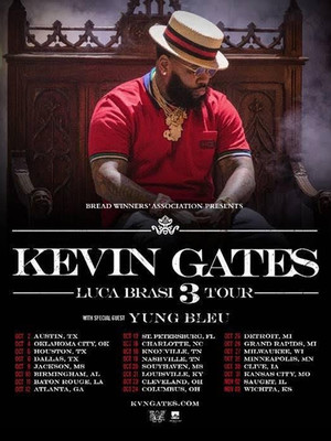 Kevin Gates, Durham Performing Arts Center, Durham