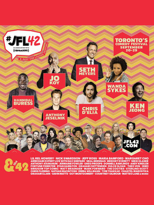 JFL42 Festival Top Comic, Queen Elizabeth Theatre, Toronto