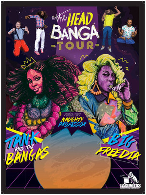 Tank and the Bangas with Big Freedia Poster