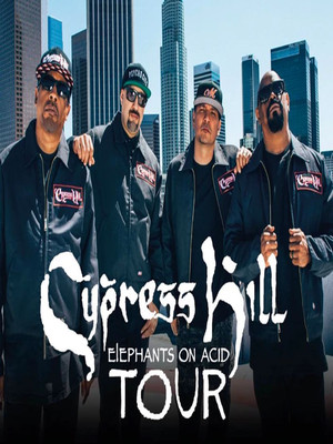 Cypress Hill at Wellmont Theatre