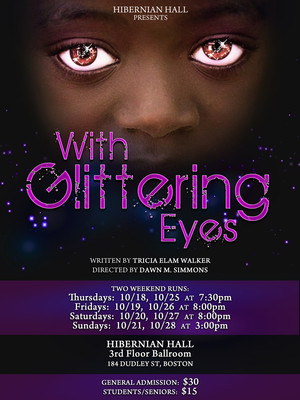 With Glittering Eyes Poster