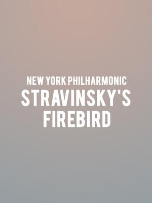 New York Philharmonic - Stravinsky's Firebird Poster