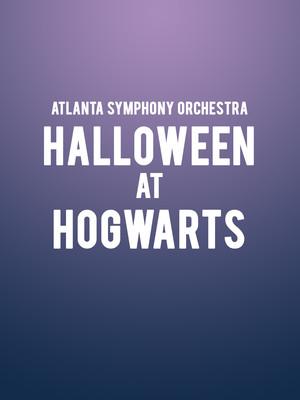 Atlanta Symphony Orchestra - Halloween at Hogwarts Poster