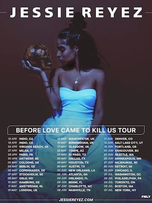 Jessie Reyez at Orpheum Theater