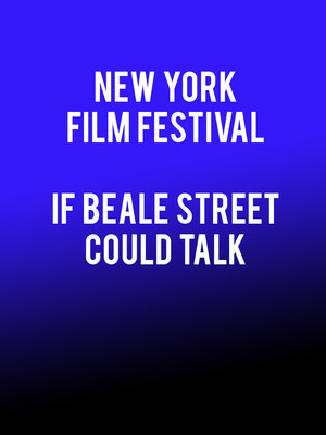New York Film Festival If Beale Street Could Talk, Apollo Theater, New York