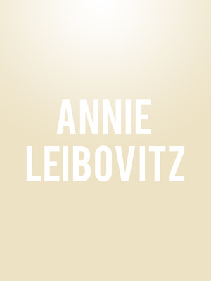 Annie Leibovitz at Arlington Theatre