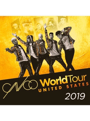 CNCO at San Jose Civic Auditorium
