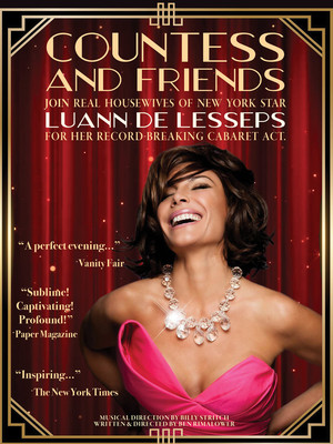 Luann de Lesseps, Bergen Performing Arts Center, New York