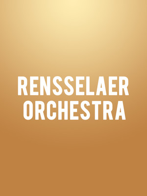 Rensselaer Orchestra Poster