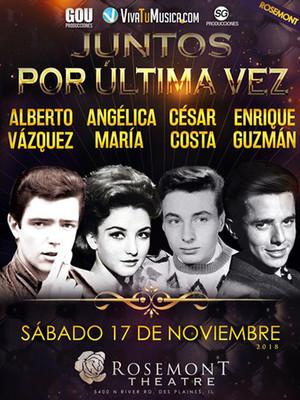 Enrique Guzman, Angelica Maria, Alberto Vasquez and Cesar Costa Poster
