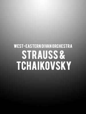 West-Eastern Divan Orchestra - Strauss & Tchaikovsky Poster