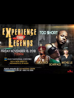 Experience The Legends - Too Short, Slick Rick, Scarface, Michelle Poster