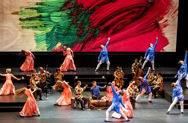 Mark Morris Dance Group Silkroad Ensemble Layla and Majnun, Sadlers Wells Theatre, London