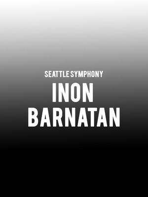 Seattle Symphony - Inon Barnatan Poster