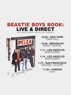 Beastie Boys Book: Live and Direct with Adam Horovitz and Michael Diamond Poster